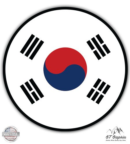 South Korea Flag - 5