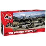 Hornby Airfix A05330 WWII RAF Bomber Re-Supply Set, 1:72 Scale