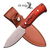 Personalized Free Engraving Quality Elk Ridge Knife with Wood Handle (ER-551LW)