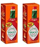 Tabasco Original Sauce, Pepper, 12 Ounce (Pack of 2)