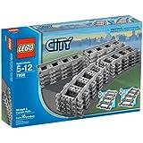 LEGO City Straight & Curved Rails