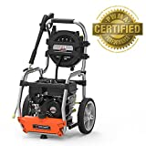 YARD FORCE 3200 PSI 2.5 GPM Gas Power Pressure Washer with Hose Reel and Bonus Turbo Nozzle Review