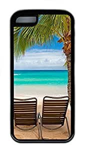 for iphone 6 4.7 Case Chilling at the beach TPU for iphone 6 4.7 Case Cover Black