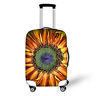 "Coloranimal Sunflowers Luggage Cover Fits 18""-32"" Suitcase XL"