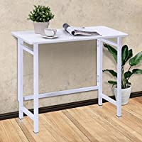 Folding Table Computer Desk PC Laptop Writing Table Home Office Workstation