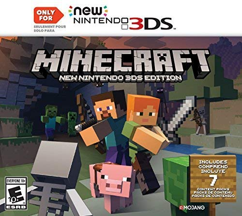 Amazon.com: Minecraft: New Nintendo 3DS Edition - Nintendo ...