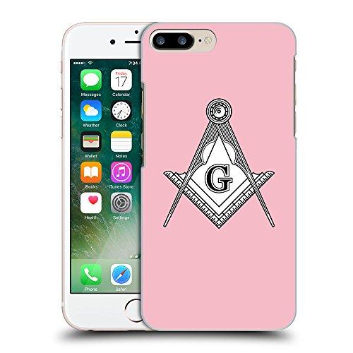 GoGoMobile Coque de Protection TPU Silicone Case pour // Q09620630 Franc-maçonnerie 2 Rose // Apple iPhone 7 PLUS
