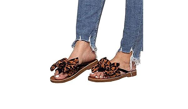 Chellysun Womens Flip Flops Open Toe
