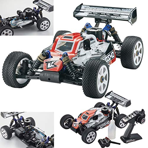 Kyosho Inferno Neo 2.0 RC Nitro Buggy (1:8 Scale), Red from Kyosho