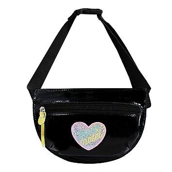 Amazon.com: Monique - Bolsa de cintura con diseño de corazón ...