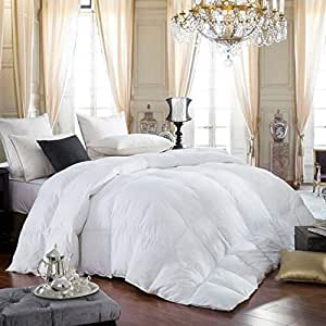 b0b7907bfec Amazon.com  LUXURIOUS Queen Size Siberian GOOSE DOWN Comforter