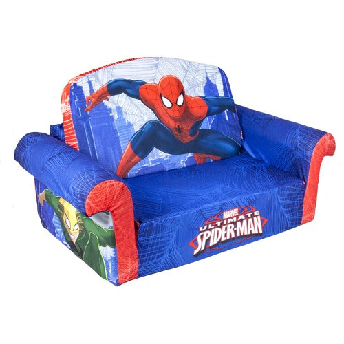 Marshmallow Spider-Man Flip Open Sofa