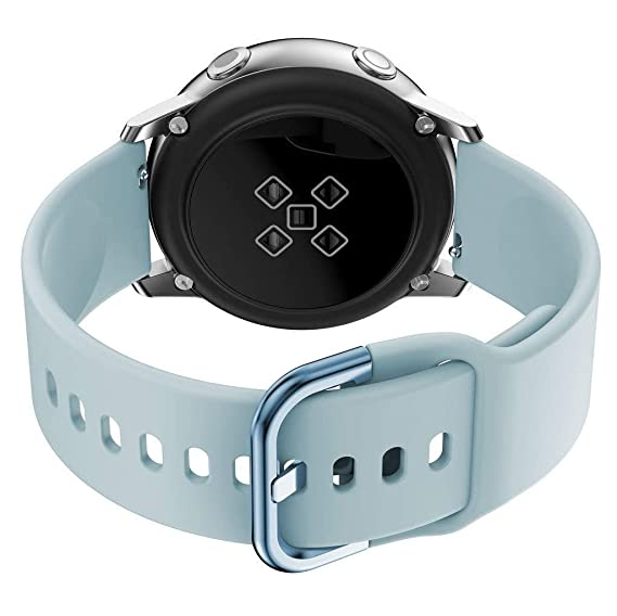 20MM Silicone Watch Bands,qiuck Release,Compatible with Any Traditional or Smart Watch use 20mm Spring Bars,Sky Blue