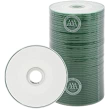 800 Spin-X 32x MINI CD-R Blank Media 22Min 193MB White Inkjet Hub