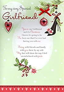 Amazon to my very special girlfriend christmas greeting card to my very special girlfriend christmas greeting card second nature xmas cards m4hsunfo