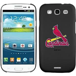 St. Louis Cardinals - 1 Cardinal design on a Black Samsung Galaxy S3 Thinshield Case