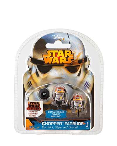 [Star Wars Rebels Chopper Earbuds Electronics] (Star Wars Chopper)