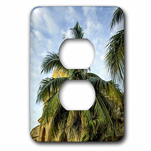 Danita Delimont - Clock Tower - The venerable clock tower, Ciudad Vieja, Cartagena, Colombia. - Light Switch Covers - 2 plug outlet cover - Las Outlets Viejas
