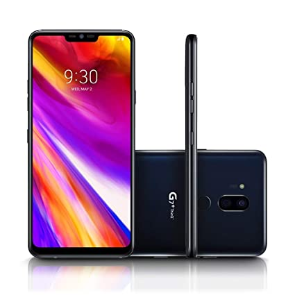 LG G7+ ThinQ LM-G710EAW 128GB/6GB (Factory Unlocked) - GSM ONLY, NO CDMA -  No Warranty in The USA (Black)