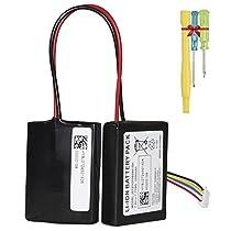 Beats Pill 2.0 Battery, Hixon Replacement Battery Fits J272/ICP092941SH Bluetooth Wireless Portable Speaker