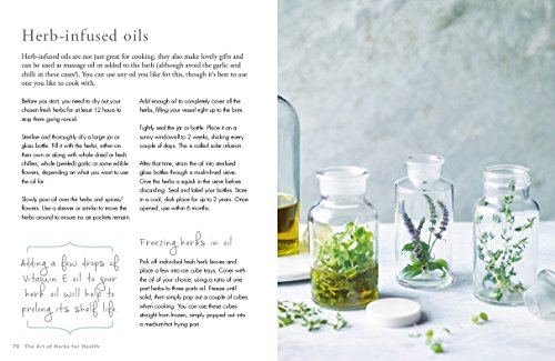 The Art of Herbs for Health: Treatments, tonics and natural home remedies (Art of series) by Kyle Books (Image #8)