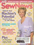 Sew News Magazine - July 2000 - Bonus Issue: Sewing Machine Comparison Chart