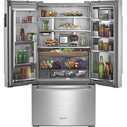 KitchenAid KRFC704FSS 23.8 Cu. Ft. Stainless Steel French Door...