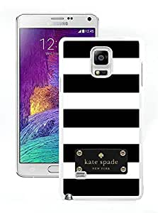 Personalized Popular Design Samsung Note 4 Case Kate Spade New York Phone Case For Samsung Galaxy Note 4 Plastic Cover Case 116 White