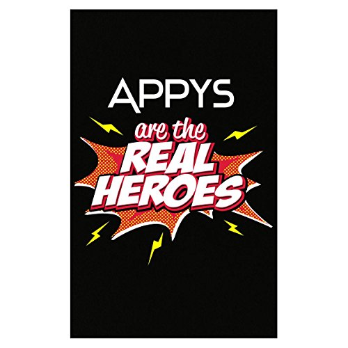 Appy Tee - My Family Tee Appys Are The Real Heroes Cute Gift For Grandmother - Poster
