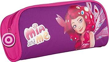 Maxi & Mini Mia and Me - Estuche escolar, diseño de Mia y yo: Amazon.es: Juguetes y juegos