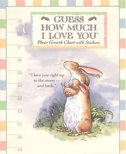 Guess How Much I Love You Photo Growth Chart - I Love Charts