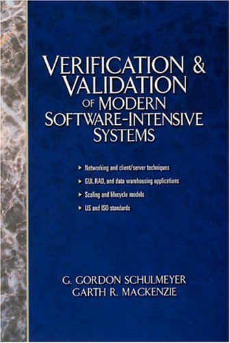 Verification and Validation of Modern Software-Intensive Systems by Prentice Hall