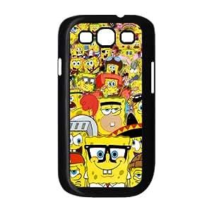 WJHSSB SpongeBob Phone Case For Samsung Galaxy S3 I9300 [Pattern-3]