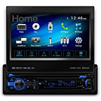 Axxera – 7 DIN Multimedia DVD Receiver with Bluetooth & 2-Way DualMirror(TM)