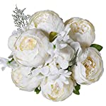 Luyue-Vintage-Artificial-Peony-Silk-Flowers-Bouquet-Home-Wedding-Decoration-Spring-White