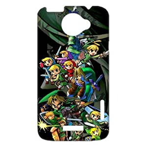 Unique Design The Legend of Zelda for HTC One X Case