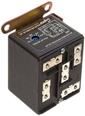 514HUFyzZgL._SY445_ supco apr5 wire to wire adjustable potential relay, 30 a load supco relay wiring diagram at crackthecode.co
