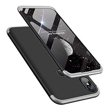 MRSTER Funda Xiaomi Mi MAX 2-360 Grados Protección Cubierta ...