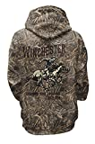 Official Winchester Mens Vintage Rider Classic Hunting Fleece Hoodie Realtree Max 5 Camo (XXL, Real Tree Max5 Camo)