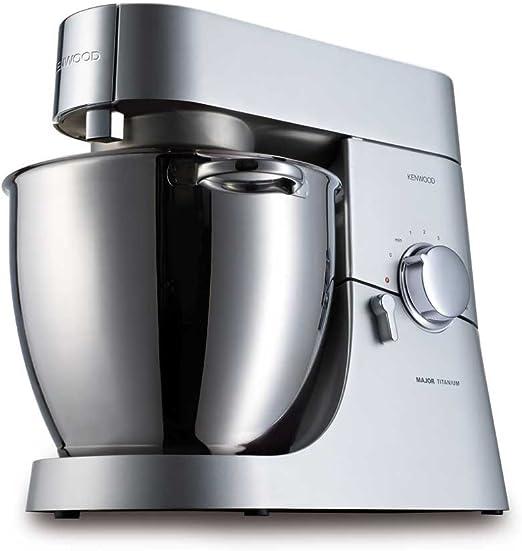 Kenwood Kitchen Machine - KM020 - Robot de cocina (6,7 L, Plata, 1500 W, 238 mm, 408 mm, 343 mm): Amazon.es: Hogar