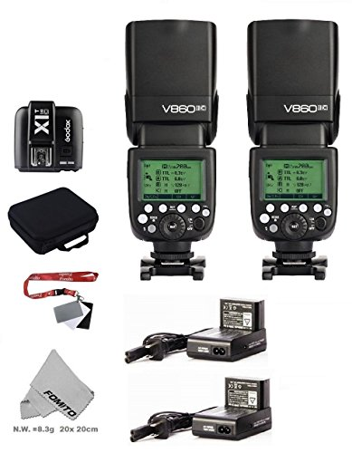 Fomito GODOX VING カメラフラッシュV860IICキット (TTLpioneering Li-ion Camera Flash) Canon EOSカメラに適用の商品画像