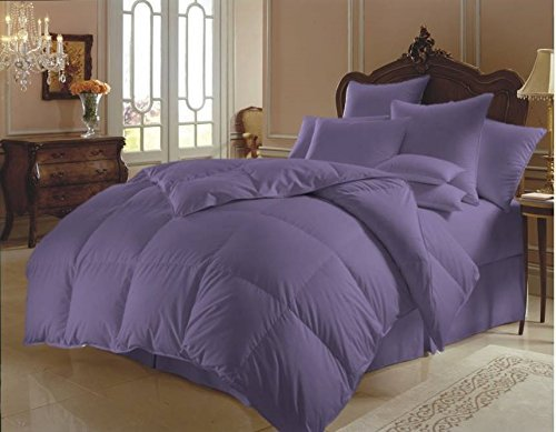 Super Soft Quilt Goose Down Box Stiched Comforter 300 GSM 800 Thread Count Duvet Set Sheet Set