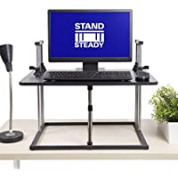 Uptrak Standing Desk by Stand Steady (Square Level - Black)
