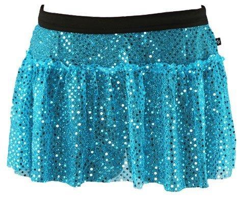 Disney Marathon Running Costumes (Turquoise Sparkle Running Skirt M)