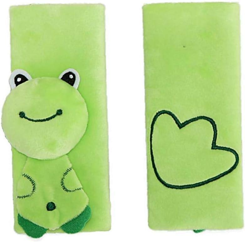 IUwnHceE 1pc Child Safety Wear Seat Cover Ceinture pour Voiture Cartoon B/éb/é Nouveau-n/é Seat /Épaule Ceinture Grenouille