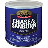 Chase and Sanborn OFX33000 Gourmet Office Coffee, Arabica