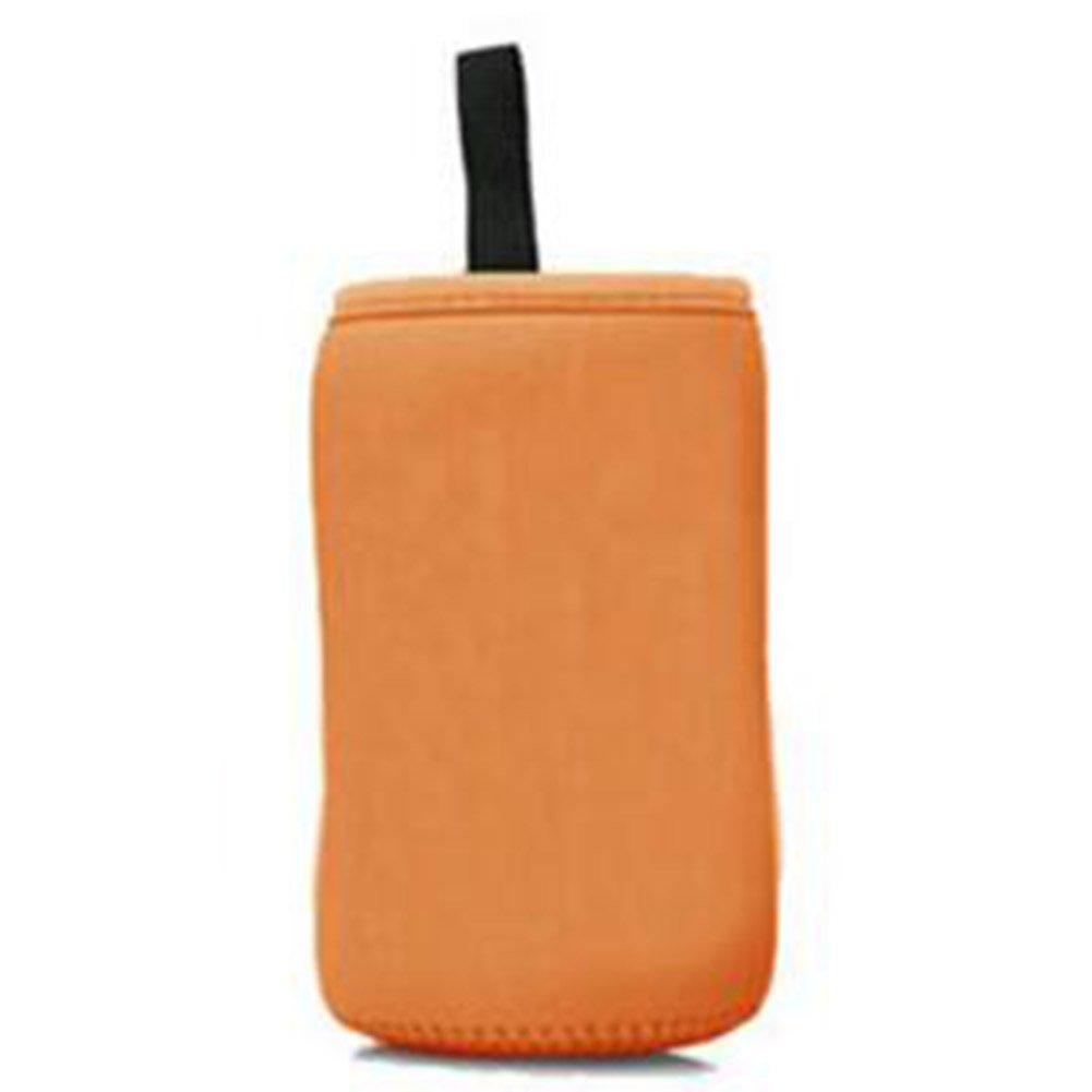 Highdas Baby-Insulated Warm-Halter-Speicher-Beutel-Beutel für Portabel Milchflasche große Kaliber S (orange) Halten