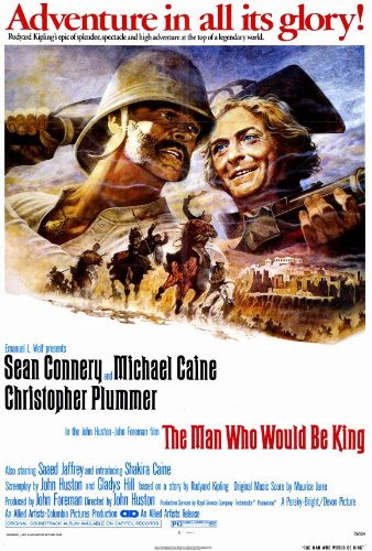 Image result for the man who would be king movie poster amazon