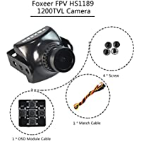Crazepony Foxeer FPV Camera 1200TVL 26mm 2.8mm Lens Sony Super Had II CCD IR Sensitive for QAV250 Race Drone etc