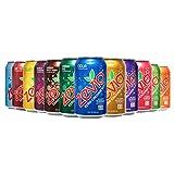 Zevia Zero Calorie Soda, Rainbow Variety Pack, Naturally Sweetened, (Pack of 24)
